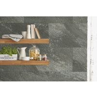 Dalle rigide étanche PVC Grosfillex GX WALL+ 30x60 DARK STONE - dark stone