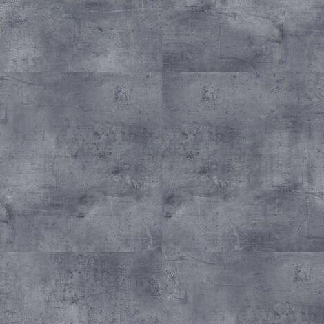 Offre Pro-Boite 5 dalles PVC clipsables - 2,22 m² - iD SQUARE-VINTAGE ZINC-DARK gris - TARKETT