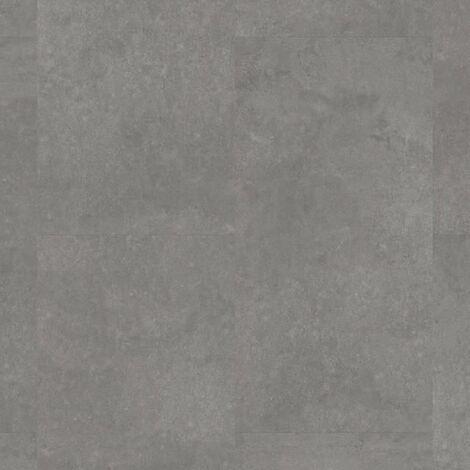 Offre Pro-Boite 3 dalles PVC clipsables - 1,38 m² - iD Click Ultimate 70-Polished Concrete-Steel - TARKETT
