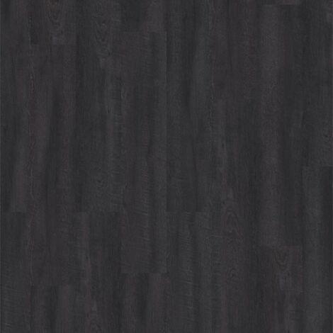 Lame PVC à coller - boites 15 lames de sol vinyles adhésives - 2,08 m² - imitation parquet noir- Starfloor- Smoked Oak - TARKETT