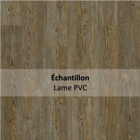 Echantillon Sol PVC clipsable - Essentiel Click 30 - imitation parquet Brushed Pine gris - Tarkett