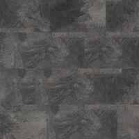 Dalles de sol PVC clipsables - boite de 9 dalles sol vinyle imitation carrelage - 1,67 m² -Starfloor Click 30- Slate anthracite - TARKETT