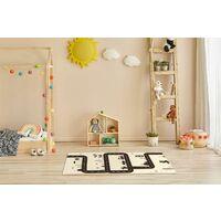 Tapis de jeu en vinyle pvc Tarkett 49,5x109pour chambre d'enfant - haute qualité non toxique - motif circuit