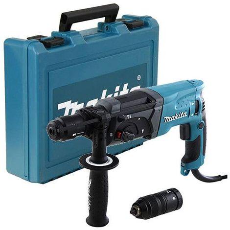 Perforateur burineur SDS+ 780W 24mm dans coffret synthétique - MAKITA HR2470FT