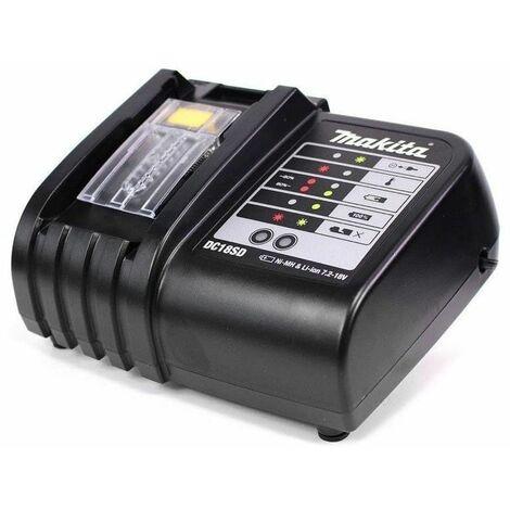 Chargeur multi-voltage 9,6 à 18 V Li-Ion et Ni-Mh - Makita DC18SD