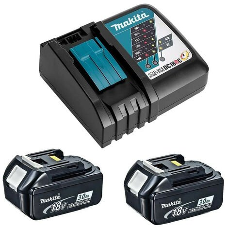 Power Pack 18V LXT (2x3,0 Ah) et chargeur - MAKITA Y-00197