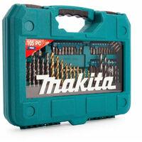 Ensemble de 105 pièces de forets et embouts pour tournevis - MAKITA P-90364