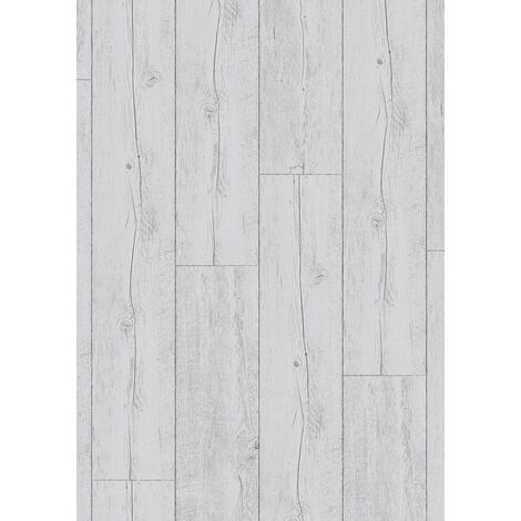 Boite de 8 lames à clipser - 2,12 m² - Senso Clic 30 214x1239 White Pecan - Gerflor - White Pecan