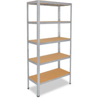 shelfplaza® PROFI Steckregal 180x150x60cm Akten Büro Garage Lager Werkstatt