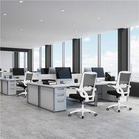 Bürostuhl Chefsessel ergonomisch Drehstuhl höhenverstellbar Computerstuhl mit wegklappbare Armlehne