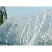 Invernadero de túnel 4x3x2,2m, 12m², Transparente