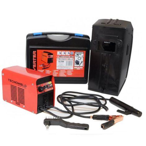 Poste à souder inverter 100 ampères ES2500 TECNOWELD soudure à l'arc MMA pour baguette de soudure 1.6 à 2.5 mm acier inox fonte