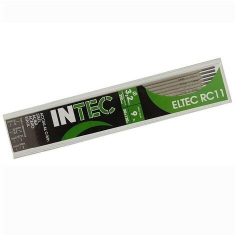 Electrodes rutile 3.2 x 350mm-Baguette soudure à l'arc Acier-Baguettes enrobées-soudage mma- blister 9 pièces