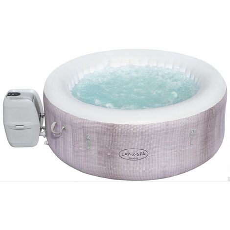 Spa Gonflable Cancùn Airjet 2/4 places Ø 180 x H 66 cm Bestway Couverture thermo isolante