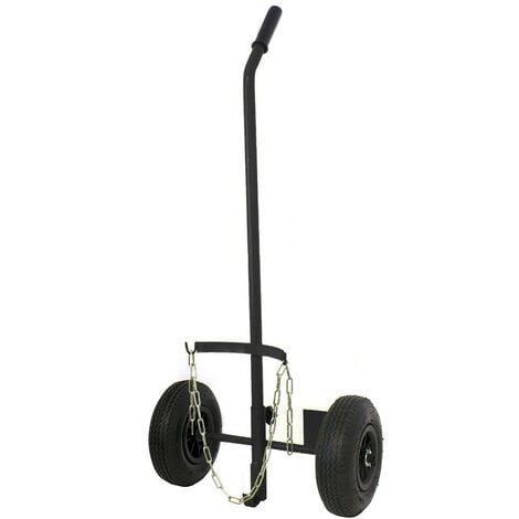 Chariot roues gonflées pour bouteille de gaz 6/13kg diamètre 220mm