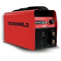 Poste à souder 180A TECNOWELD + Cagoule LCD 9/13 Soudage Acier Inox Fonte diam 1.6 - 5 mm