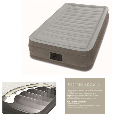MATELAS GONFLABLE INTEX 1 PLACE 67766 67766