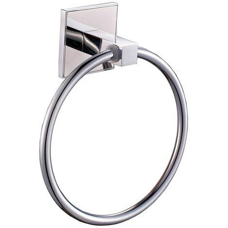 Saturn Chrome Towel Ring