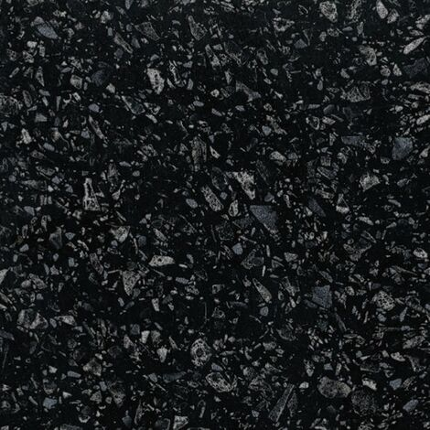 Monte Carlo Black Astral Quartz Worktop 2000mm x 365mm x 28mm