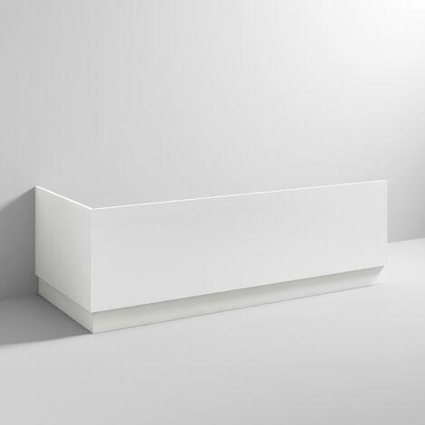 White Gloss 700mm Bath End Panel & Plinth