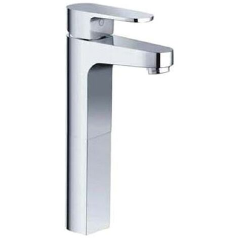 Central Chrome High Rise Basin Mono Mixer & Slotted Sprung Basin Waste
