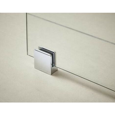 Wetroom Screen Support Foot - Chrome