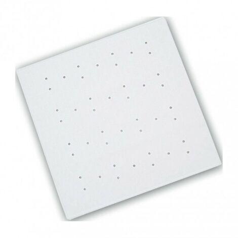 Rubber Shower Mat - White 530mm x 530mm