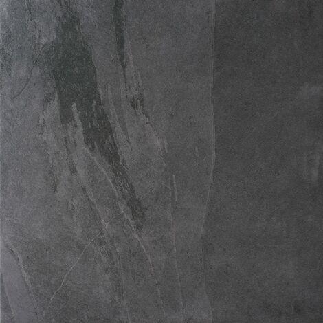 Lajedo Black Porcelain Multiuse Tiles 600mm x 600mm - Box of 3 (1.08m2)