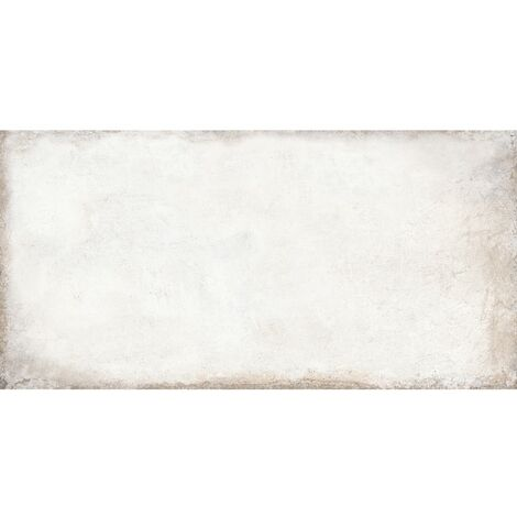 Victoria White Porcelain Multiuse Tiles 300mm x 600mm - Box of 8 (1.44m2)