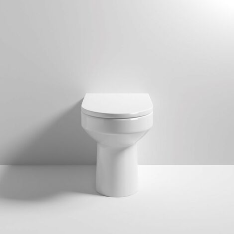 Harmony Back To Wall WC Pan & Soft Close Seat