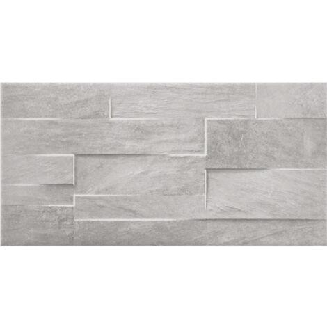 Chelsea Grey Brick Wall Tiles 257mm x 515mm - Box Of 12 (1.59m2)