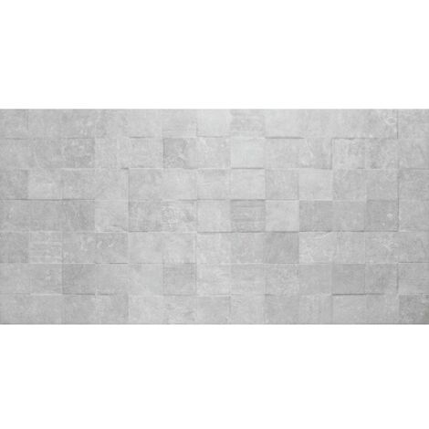 Chelsea Grey Mosaic Wall Tiles 257mm x 515mm - Box Of 12 (1.59m2)