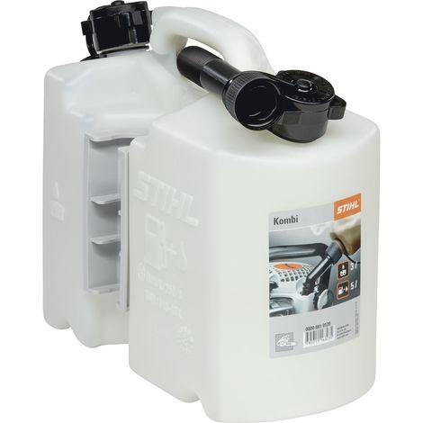 STIHL Kombi-Kanister transparent für 5L Kraftstoff und 3L Öl