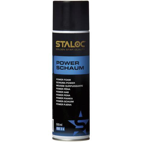 STALOC Power-Schaum Spray | vielseitiger und kraftvoller Reiniger für unzählige Anwendungsgebiete | 500 ml