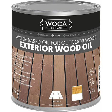 WOCA Exterior Öl, Teak 0,75 Liter