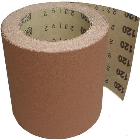 STARCKE Schwingschleifpapierrolle breite 115 mm Korn 180 1Rolle=10 Meter