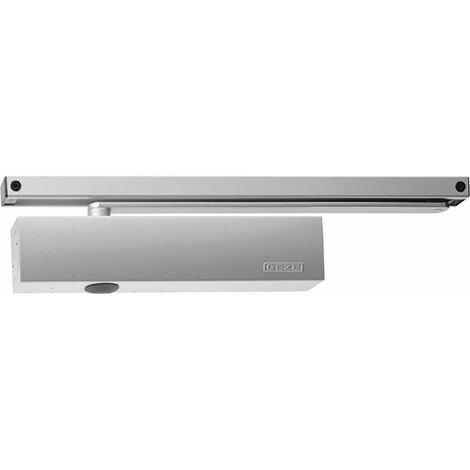 Türschließer TS 5000 L   Größe EN 2-6 , 1 Flügel   mit Gleitschiene, ohne Feststellung, silber