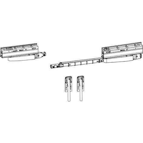 HAUTAU ATRIUM SP komfort Grundkarton Laufwerk, rechts, 160 kg, 1 Stück | Zubehör Beschläge für Fensterbeschläge Schiebefenster Schiebetürbeschlag