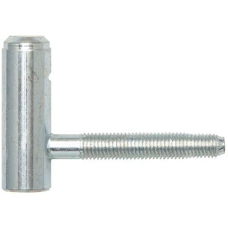 GAH 414436 Konstruktionsband Typ K04 2-teilig zum Anschweißen Stahl rohRundkopf