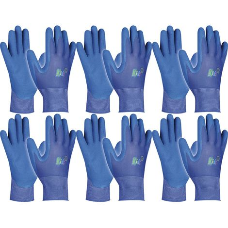 Schutzhandschuh Kinder Gebol Kids Farbe: blau 5-8 Jahre | 6 Paar