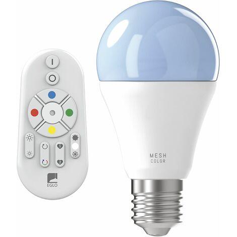 CONNECT LED-Birnenlampe A60 E27 9 W 2700K - 6500K + RGB inkl. Fernbedienung