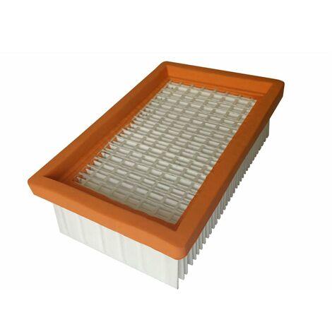 WD 5 und WD 6 10 Staubsaugerbeutel 1 Flachfaltenfilter für Kärcher WD 4