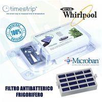 Filtro Aria Antibatterico Microban Frigorifero Whirlpool Hyg001 Originale 481248048172 Timpestrip
