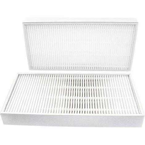 Filtres compatibles VMC DANTHERM HCV400 (2 pièces) - contenu : 2 G4