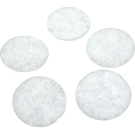 Filtres pour bouches d'extraction VMC (5 pièces) - typedebouche : DLV 100 Helios (Ø 85 mm) - classedefiltration : G2