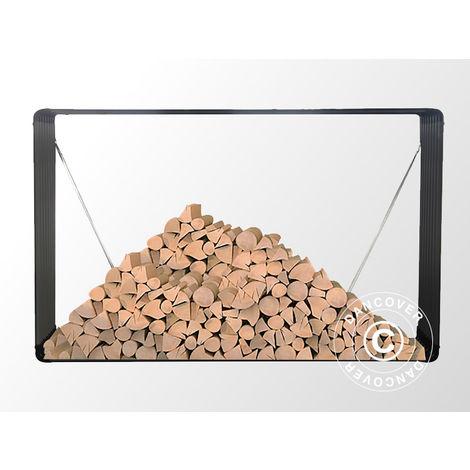 Stockage pour bois/parterre de fleurs surélevé 1,10x0,52x1,80m ProShed®, Anthracite