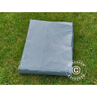 Bâche 6x12m, PVC 500g/m², Gris