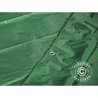 Bâche 6x14m, PVC 500g/m², Vert