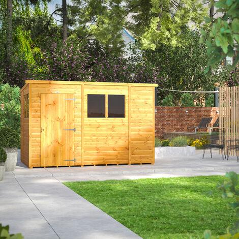 10x6 Power Pent Garden Shed