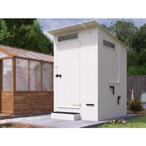 Composting Eco Toilet Solar Powered Glamping Festival Rural Fertilizer Compost Temperature Resistant